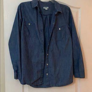 Old Navy denim blouse